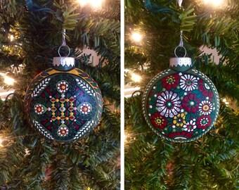 "Pysanka Designs Ornament 3 1/2"""