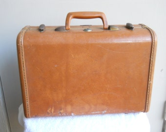 Mid Century Train Case by Samsonite Overnight Bag Suitcase
