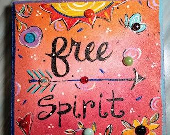 Garden Stone, Free Spirit