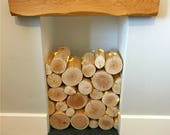 Decorative Logs for Feature Displays in Empty Fireplaces & Alcoves