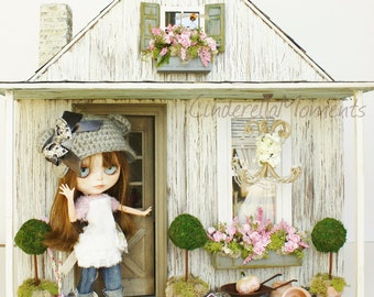 A House For Blythe 1/6 Scale Custom Furnished Dollhouse