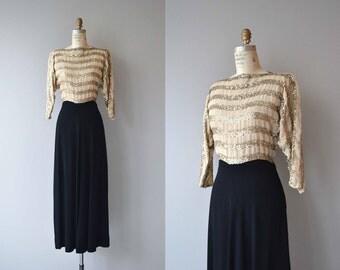 Tinsel Town dress | 1930s dress | vintage 30s dress