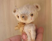 Reserved/Sold to Steph: Esther Bear by Woollybuttbears