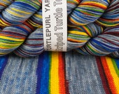 What Does It Mean? - Hand-dyed Self-striping sock yarn SALE