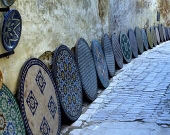 Blue Alley, Fez, Morocco