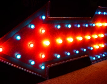 EXTRA LARGE Movie Theater Size Marquee Arrow