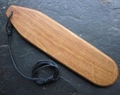 Natural Wood Bullroarer - Antique English Oak - for Protection.