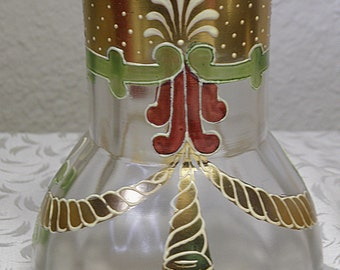 Decorated ART Glass Vase, Possibly Loetz