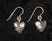 Wire-wrapped Hematite Hea...