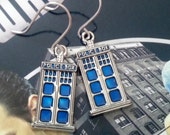 Dr. Who Inspired Earrings