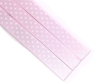 Pattern Magnet - Chart Keeper Magnetic Bookmark - Knitting Crochet Supplies Tools - Set of 3 - Light Pink Satin