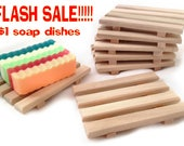 RESERVE listing - 3 reclaimed wood soap dishes