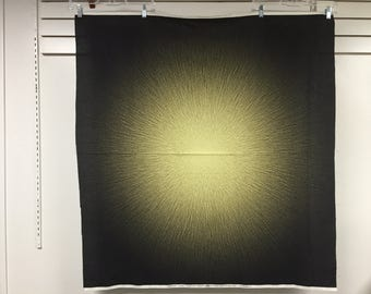 Fabric Hoffman Supernova digital Panel 40 inches by 44 inches Burst of light P4287-238-TOPAZ