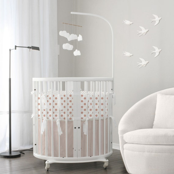 NEW Rose Gold Collection // Baby bedding & Stokke bedding