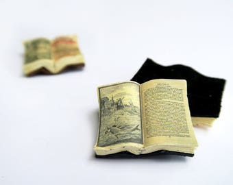 Miniature Open Book --- Shark Attack