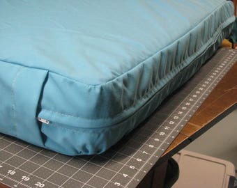 Camper Cushion Cover for sofa / gaucho / bench - with zipper - made to order - you provide fabric - Happy Campers of the South
