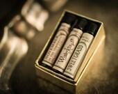 Natural Perfume Oil Samples - Choose 3 - For Strange Women perfume gift set - organic, botanical, artisan scents