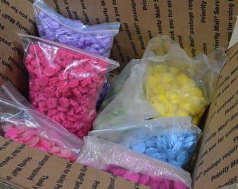 Sale - Free Shipping 1 Box of Resin Flowers You will get everything in the photo
