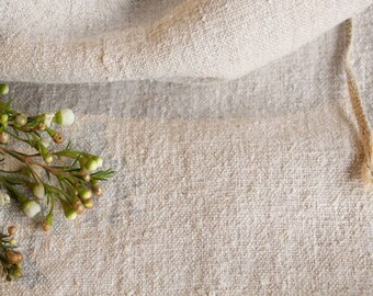 B 886:  antique handloomed GREYISH  french lin, 리넨,  grain sack for pillows cushions runners 33.86 long
