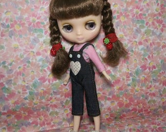 Denim Rompers and Top for Middie Blythe
