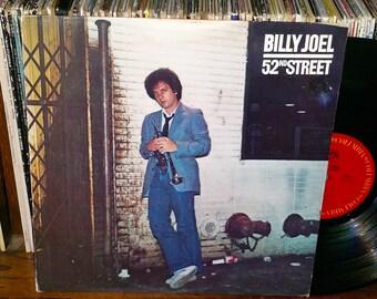 Billy Joel 52nd Street Vintage Vinyl Record