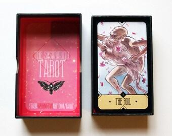 The Sasuraibito Tarot - 78 Card Deck and booklet