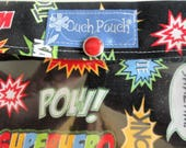 1 large, 1 medium ouch pouch