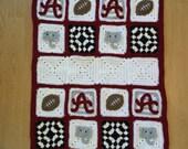 Crochet Alabama Baby Blanket Afghan
