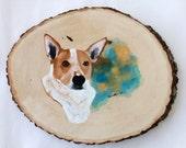 Dog Portrait, Pet Portrait, Custom Painting, Custom Portrait, Personalized gift, Memorial art, Custom dog portrait, Animal art