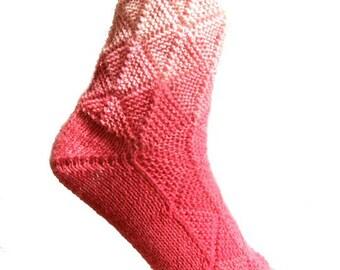 Fairytale socks Pink , US size  7.5/8.5 , UK size 5.5/6.5, EU size 38/39