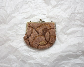 1920s beaded pocket purse