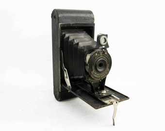 Antique Kodak Folding Cartridge Premo No. 2-A Camera. Circa 1910's - 1920's.