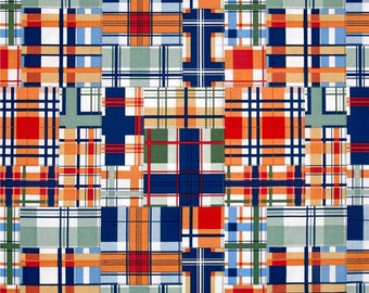 Michael Miller Fabric Madras Patch Cheer, Choose your cut