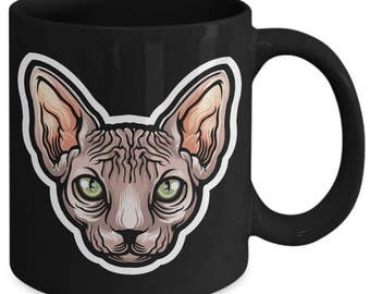 Sphinx Cat Sphynx Feline Pet Coffee Mug