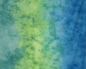 Hand Dyed Fabric - Thrive -  Gradient