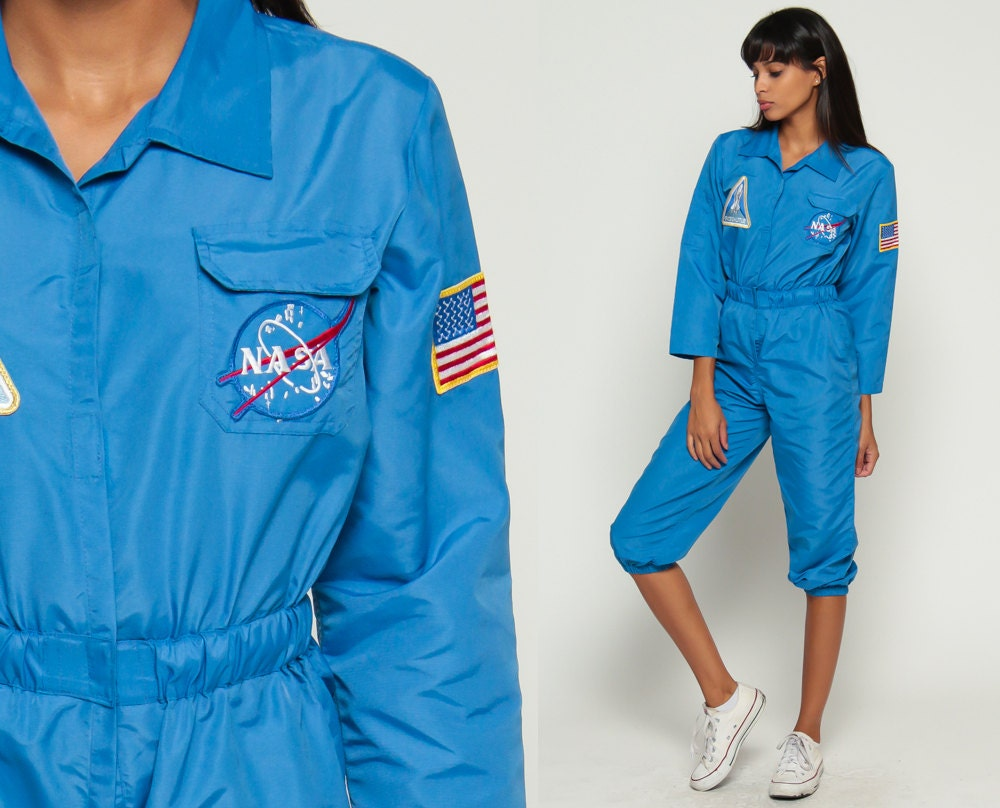 nasa jumpsuit blue - photo #6