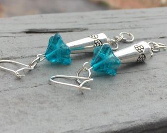 Boho earrings, trendy earrings, bohemian earrings, gypsy earrings, hippy earrings, fairy earrings, dangle earrings
