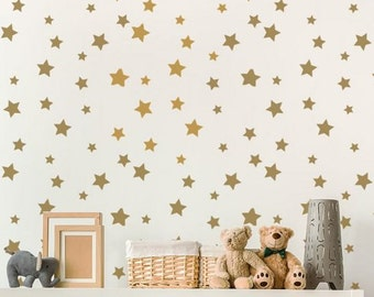 Twinkle Twinkle Allover Stencil - Cheaper than Wallpaper - Whimsical Wall Art for a Quick Room Makeover
