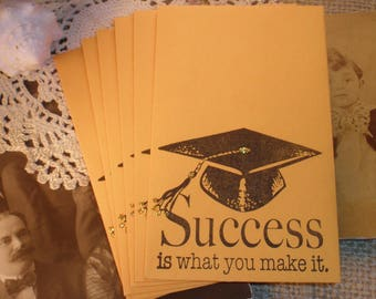 Graduation Gift Card Holders/ Envelopes Set of 6