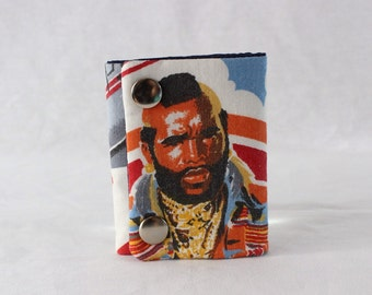 Mr T Three Fold Chain Wallet Recycled