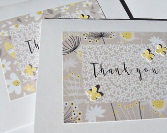 Thank You Cards. Bridal Shower Thank You Cards. Baby Shower Thank You Cards. Baby Gift Thank You Cards. Wedding Thank You Cards,  - gyty
