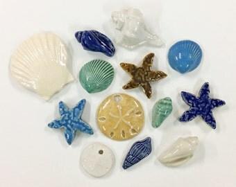 Ocean Mosaic Tiles - Mixed Set - Grab Bag