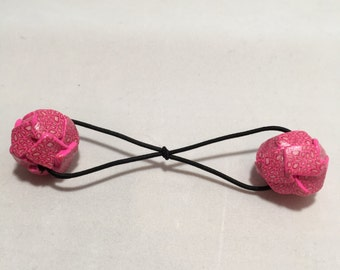 Pretty In Pink Hair Bauble