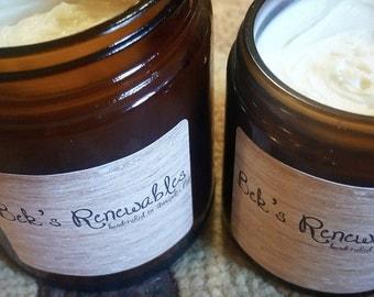 9oz jar Bek's Renewables Homemade Lotion