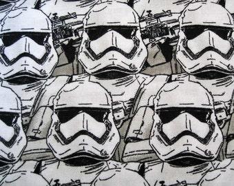 2 Yards  Star Wars Storm Troopers 100% Cotton Fabric 1 Yard Heroine Star Wars Fabric CUSTOM ORDER CYNDI