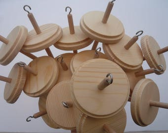 Heidifeathers Wooden Spindle or Spindles