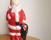 retro christmas empire santa blow mold 1968 vintage