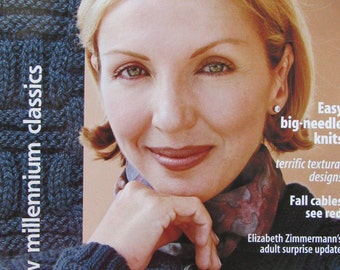 Knitter's Magazine/Fall 2000/Wonderful Ponchos, Sweaters, Scarves, Wraps and More!