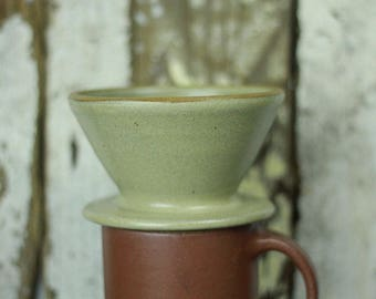 Single cup pour over Ceramic Coffee Maker