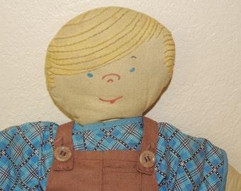 1950s Dennis The Mennis Cloth Doll